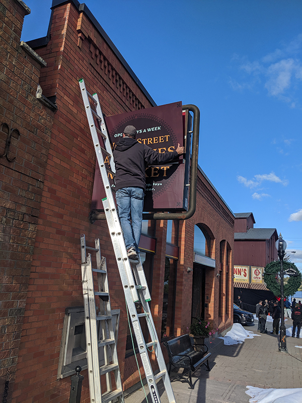 American Gods - Set Signage - Port Perry, ON